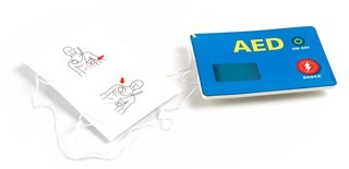 Mini Anne AED training kit (pkg 5)