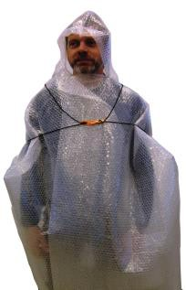 LESS Isolerende poncho